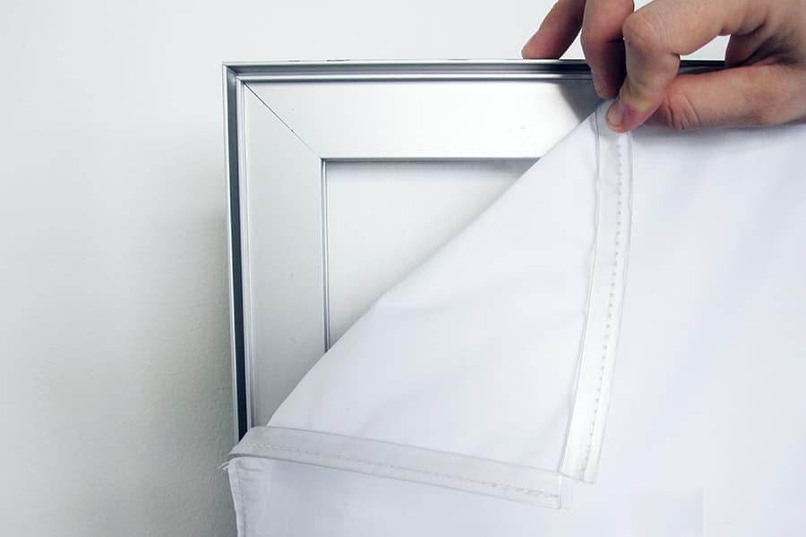 Textile Frame System Silicon Edged